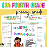 EDITABLE * Fourth Grade Year Long|  Pacing Guide