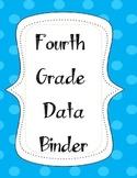 Fourth Grade Data Binder Label