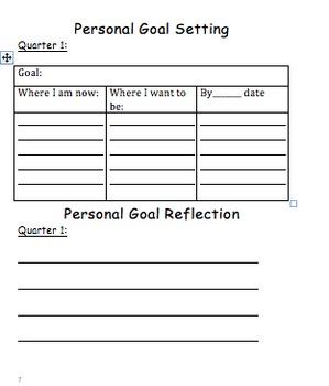 Fourth Grade Data Tracker/Leadership Notebook