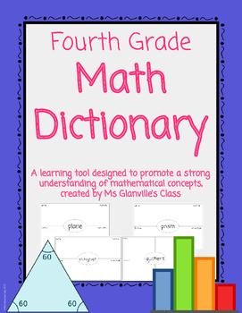 Fourth Grade Dictionary Bundle