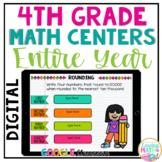 Fourth Grade Digital Math Centers BUNDLE for Google Classr