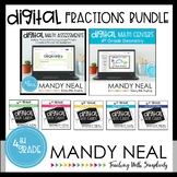 Fourth Grade Digital Math Geometry Bundle | Distance Learning
