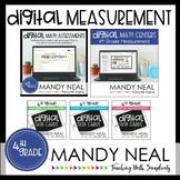 Fourth Grade Digital Math Measurement Bundle | Distance Learning