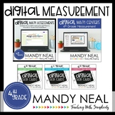 Fourth Grade Digital Math Measurement Bundle | Distance Learning