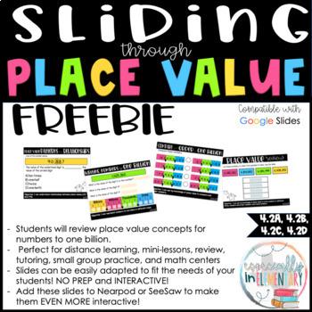 Fourth Grade Digital Place Value Practice Slides
