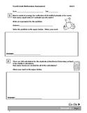 Fourth Grade Division Assessment