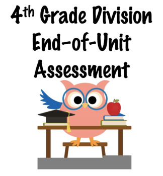 Fourth Grade Division Assessment