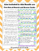 Fourth Grade Division Bundle: Exit Tickets, Search and Res