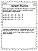 Fourth Grade Division Math Review Practice