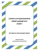 Fourth Grade ELA Common Core Standards Checklist