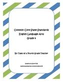 Fourth Grade ELA Common Core Standards Checklist