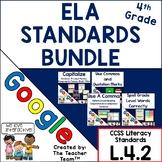 Fourth Grade Grammar Skills ELA  Practice Bundle for CCSS