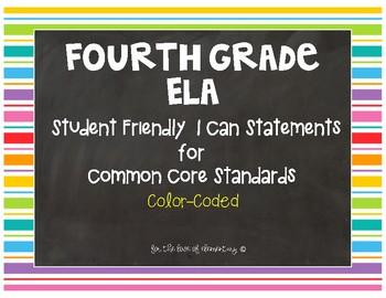 Fourth Grade ELA Standards