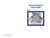 End of Year in Review Journal for Common Core Goals-Fourth Grade-REVISED