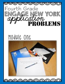 Fourth Grade Engage NY Eureka Application Problem Strips Module One