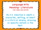 Fourth Grade English Language Arts CCS orange background