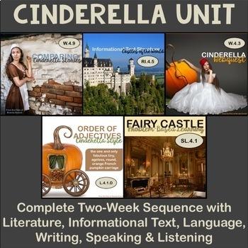 Cinderella Bundle: Two-Week Balanced ELA Unit for Fourth Grade