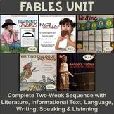 Fables Unit - Fourth Grade ELA Curriculum Bundle 3