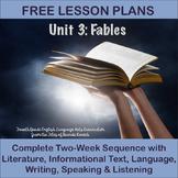 Fourth Grade English Language Arts Lesson Plans Unit 3 - Fables