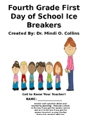 Fourth Grade First Day of School Ice Breakers