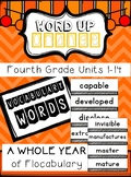 Fourth Grade Flocabulary Words Units 1-14