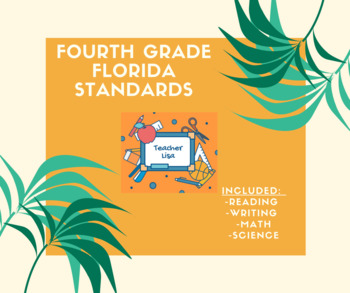 Fourth Grade Florida Standards