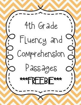 Fourth Grade Fluency Bundle