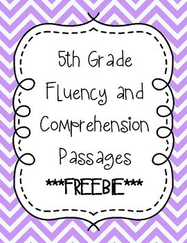 Fifth Grade Fluency Bundle