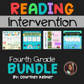 Fourth Grade Fluency & Comprehension Set Bundle {25 Passages & Activities}