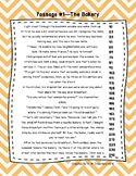 Fourth Grade Fluency and Comprehension Passages FREEBIE DORF