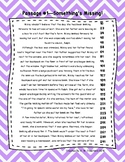 Fifth Grade Fluency and Comprehension Passages FREEBIE DORF