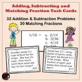 Adding and Subtracting Fraction Task Cards