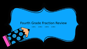 Fourth Grade Fraction Review