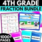 Fourth Grade Fractions Bundle