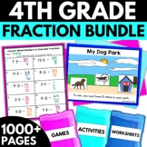 4th Grade Fractions Bundle