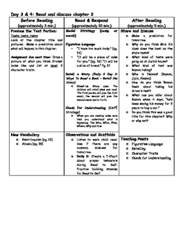 Fourth Grade Fuss Guided Reading Unit