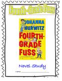 Fourth-Grade Fuss Novel Study