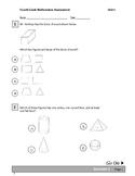 Fourth Grade Geometry Assessment