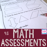 Math Assessments - Fourth Grade Geometry