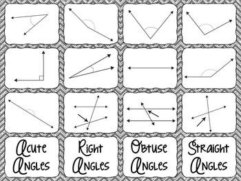 Fourth Grade Math Geometry Interactive Notebook