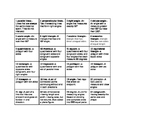 Fourth Grade Geometry Vocabulary Resources