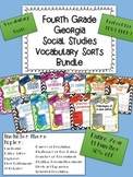 Yearlong Social Studies Vocabulary Sort Bundle - American History