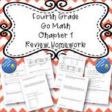 Fourth Grade Go Math Chapter 1 Review Homework