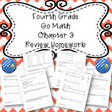 Fourth Grade Go Math Chapter 3 Review Homework