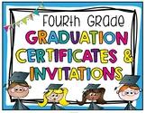 Fourth Grade Graduation Certificates & Fourth Grade Invitations