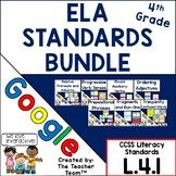 4th Grade Grammar Bundle L.4.1  Google Classroom   Distanc
