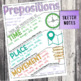 Fourth Grade Grammar and Language Unit on Types of Prepositions