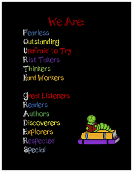 Fourth Grade Growth Mindset Poster