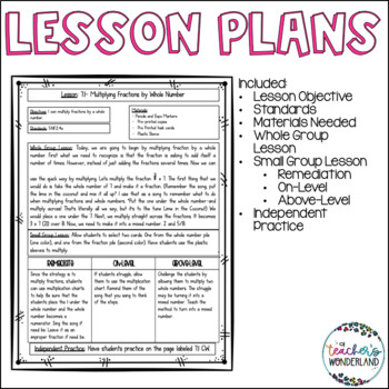 Fourth Grade Guided Math Growing Bundle