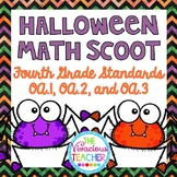 Fourth Grade Halloween Math Scoot 4.OA.A.1, 4.OA.A.2, 4.OA.A.3